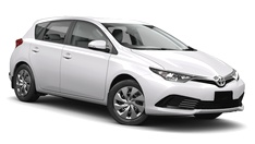 hire toyota corolla hatch cape town